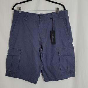 Marc Anthony Postal Blue Cargo Shorts, NWT